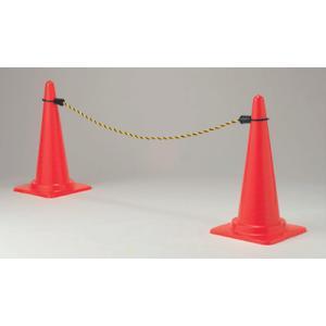 カラーコーン用コーンロープ872−45 1.5m|genba-anzen