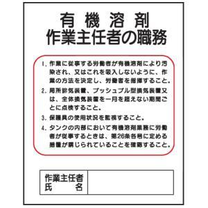 有機溶剤作業主任者の職務J21 500×400 genba-anzen