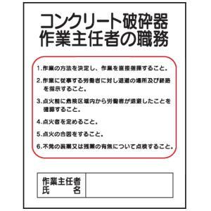 コンクリート破砕器作業主任者の職務J24 500×400 genba-anzen