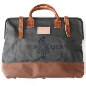 OLD CROW オールド クロウ メンズ キャンバス メイソンバック 送料無料 OLD MASON BAG M OLV×BRN  GLAD HAND グラッドハンド|genba