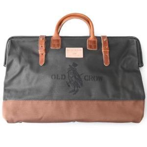 OLD CROW オールド クロウ メンズ キャンバス メイソンバック 送料無料 OLD MASON BAG OLV×BRN  L  GLAD HAND グラッドハンド|genba
