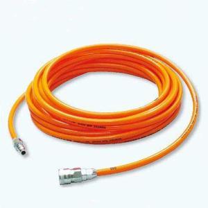 サンテックエアーホース 十川産業 7×10 20m オレンジ genbaichiba