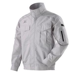 ミズノ エアリージャケット 空調服 涼しい ポリエステル 長袖 おしゃれ 服のみ|genbaichiba