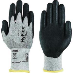 アンセル 耐切創手袋 ハイフレックス 11−435 Sサイズ|genbaichiba