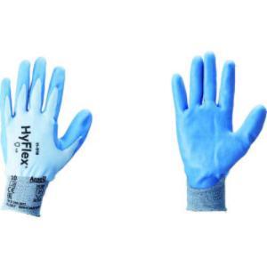 アンセル 耐切創手袋 ハイフレックス 11−518 XLサイズ  |genbaichiba