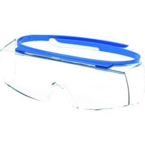 UVEX 一眼型保護メガネ ウベックス スーパー オーバーグラス|genbaichiba