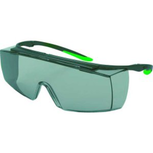 UVEX 一眼型遮光メガネ ウベックス スーパー f OTG (遮光度#1.7)|genbaichiba