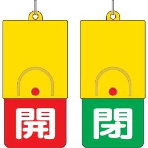 ユニット 回転式両面表示板 白文字:開赤地 閉緑地 101×48|genbaichiba