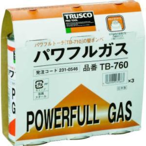 TRUSCO パワフルガス240g 3本パック|genbaichiba