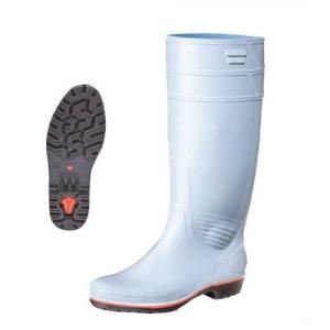 長靴 耐油性 厨房 作業用 弘進ゴム ザクタス Z-01 白 黒 青