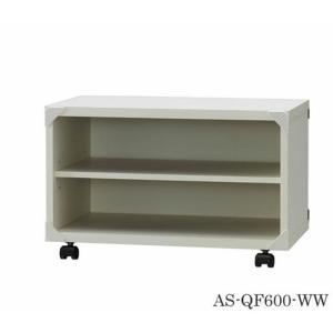 テレビ台 ホワイト 木製 QF 幅60cm 簡単組立 as-as-qf600-ww|genco1