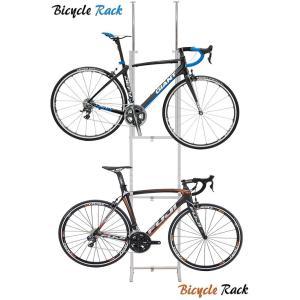 自転車ラック ツッパリ式 SB-01WH sei-sb-01|genco1
