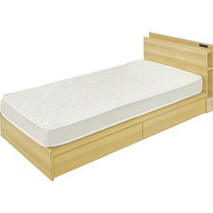 引き出し付きベッド W99センチ az-b-91s-na genco1