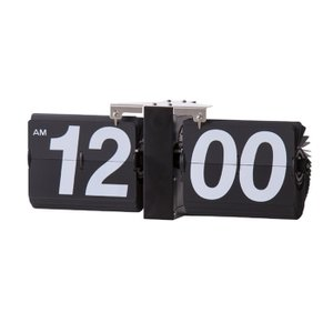 フリップクロック ブラック az-clk-118bk  /時計/壁掛け/置き/目覚まし/Clock/デジタル/アナログ/|genco1