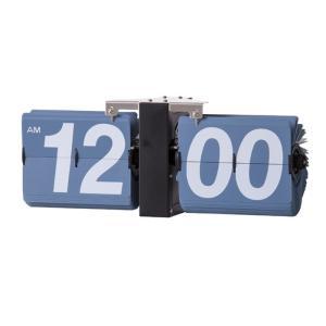 フリップクロック ブルー az-clk-118sbl  /時計/壁掛け/置き/目覚まし/Clock/デジタル/アナログ/|genco1