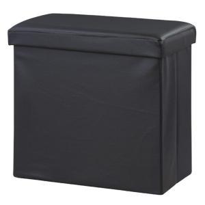 ボックススツール オットマンテーブル ブラック az-lfs-814bk  /椅子/イス/isu/チェアー/chair/|genco1