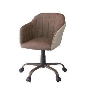 デスクチェア ブラウン az-rkc-304br  /椅子/イス/isu/チェアー/chair/|genco1