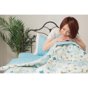 快冷 麻COOLパッドシーツ+枕パッド 2点セット セミダブルサイズ cl-asacool-set-sd  /寝具/布団/掛け/敷き/パッド/ぐっすり/|genco1