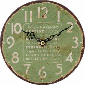 アンティークスタンドクロック グリーン fj-21922  /時計/壁掛け/置き/目覚まし/Clock/デジタル/アナログ/|genco1