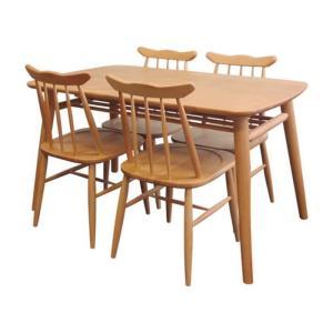 ダイニング5点セット ナチュラル NORN DINING 5点SET ise-3740802s1  /テーブル/Table/天板/ genco1