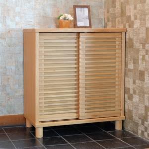 シューズボックス幅80cm ナチュラル ROSY 80 SHOES BOX NA ise-4501949s1  /収納/ラック/棚/突っ張り/ツッパリ/木製/段/アクリル/ガラス/木製/段/天板/|genco1