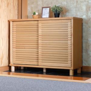 シューズボックス幅116cm ナチュラル ROSY 116 SHOES BOX NA ise-4503500s1  /収納/ラック/棚/突っ張り/ツッパリ/木製/段/アクリル/ガラス/木製/段/天板/|genco1