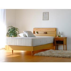 ベッドフレーム S ナチュラル ERIS BED FRAME S  NA ise-4584487s1  /ベッド/bed/べっど/下収納/すのこ/|genco1