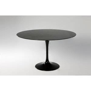 【保証付き】エーロ・サーリネン ラウンドダイニングテーブル W122 御影石 kaw-dt6131abkgra  /デザイナーズ/家具/ジェネリック/リプロダクト/テーブル/Tabl genco1