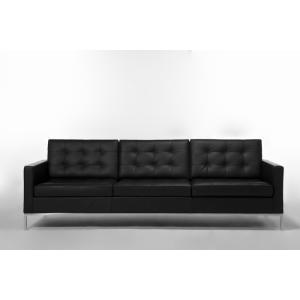 【保証付き】フローレンス・ノール 1207 ソファ 3p デラックスレザー kaw-sf7225cdl  /デザイナーズ/家具/ジェネリック/リプロダクト/ソファ/ソファー/sofa/ genco1