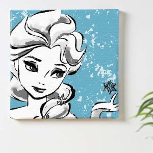 エルサ アートパネル アナと雪 女王 ディズニープリンセス Disney Mサイズ 30cm×30cm lib-4122247s1|genco1|02
