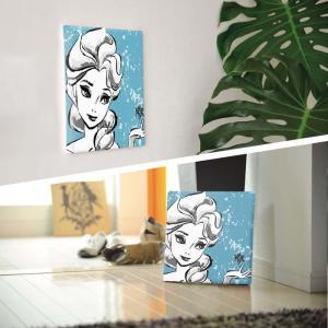 エルサ アートパネル アナと雪 女王 ディズニープリンセス Disney Mサイズ 30cm×30cm lib-4122247s1|genco1|03
