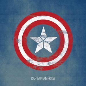 キャプテンアメリカ アートパネル mvl-0052 マーベル Mサイズ 30cm×30cm lib-4992551s1|genco1