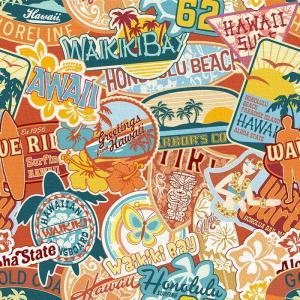 ハワイアンステッカー アートパネル popa-1803-010 Sサイズ 15cm×15cm lib-6112156s2|genco1