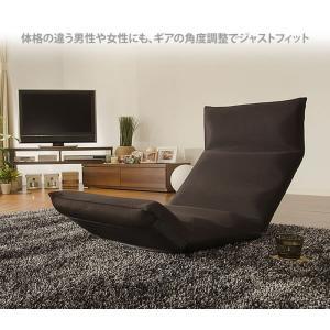 和楽の雲LIGHT 日本製座椅子 リクライニング付きチェアー A448 sg-10097|genco1|02