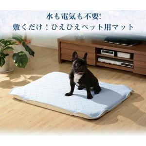 ペット用クールマット ひんやりマット+ひんやり冷感パッド セット b95-petpad  sg-10263|genco1
