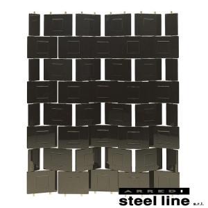 [サイズ]W152×H172cm [素材]ウッドパネルポリエステル塗装 [生産地]Made in I...