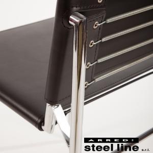 アイリーン・グレイ ROQUEBRUNEチェア レザー イタリア製 stl-416|genco1|04