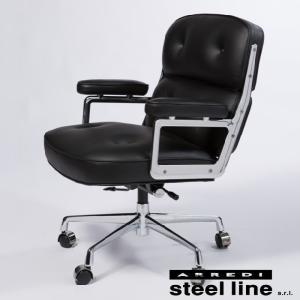 イームズ タイムライフチェア レザー イタリア製 stl-553|genco1