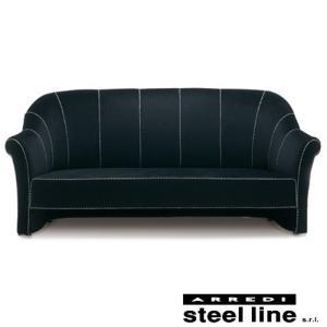 [サイズ]W200×D82×H92cm [素材]ベルベット、ビーチ無垢材 [生産地]Made in ...