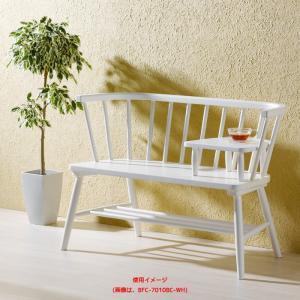 木製ベンチ  完成品  小テーブル取外可能  as-bfc-7010bc|genco2