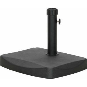 半円パラソルベース 20kg HTH20 ブラック fj-30500|genco2