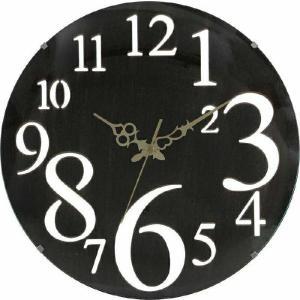壁掛け時計 レトロ ブラウン fj-56921|genco2