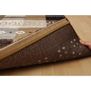 トルコ製 輸入ラグ ウィルトン織りカーペット ギャベ柄 フォリア 約200×250cm RE ike-5122417s6|genco2|07