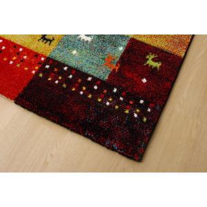 トルコ製 輸入ラグ ウィルトン織りカーペット ギャベ柄 フォリア 約200×250cm RE ike-5122417s6|genco2|09
