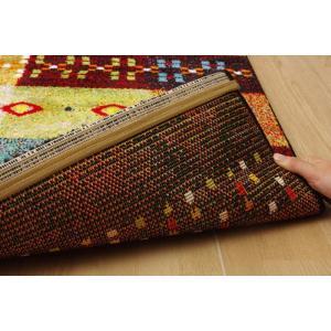 トルコ製 輸入ラグ ウィルトン織りカーペット ギャベ柄 フォリア 約200×250cm RE ike-5122417s6|genco2|10