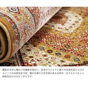 ベルギー製 世界最高密度 ウィルトン織り ラグ ルーヴェン 160x230cm mu-51000037|genco2|07