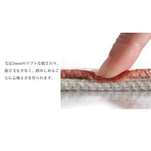 ベルギー製 世界最高密度 ウィルトン織り ラグ ルーヴェン 160x230cm mu-51000037|genco2|09