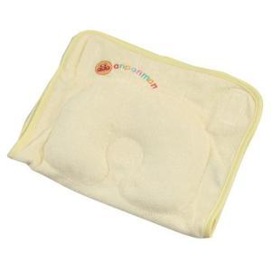 西川産業 寝かしつけ枕 まくら アンパンマン ベビー 赤ちゃん ママ楽ね C クリーム ni-lmf0506350c genco2