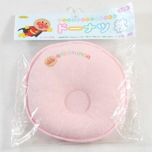 西川産業 アンパンマン ドーナツ枕 まくら 小 新生児から ベビー 赤ちゃん P ピンク ni-lmf0506699p genco2