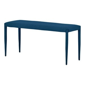 LUTINA ダイニングベンチ 2人掛けサイズ 100cm幅 ブルー LB45-100 BL sa-5528507s1 genco2